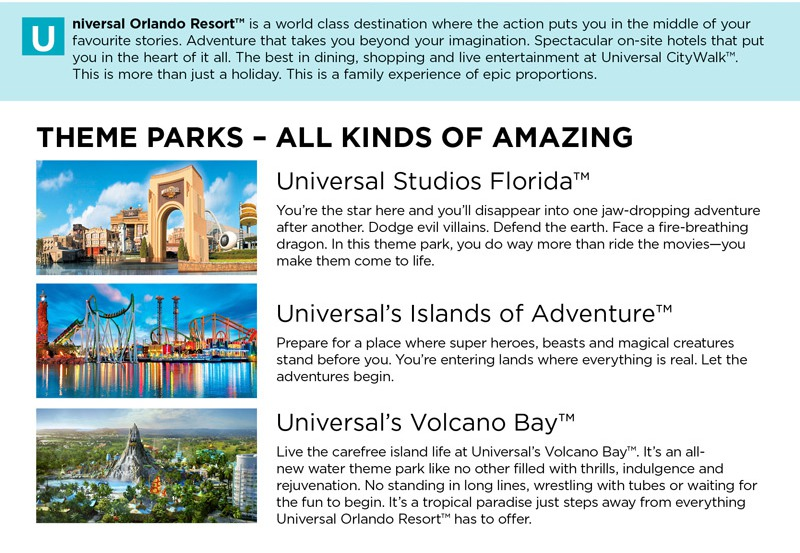 All kinds of amazing at Universal Orlando Resort