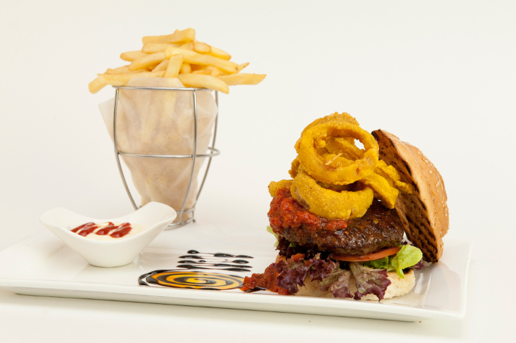 Protea Hotel Fire & Ice Cape Town - Beef Burger