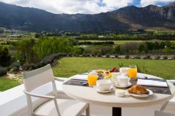 5* Mont Rochelle Hotel & Vineyard - Franschhoek (2 Nights)