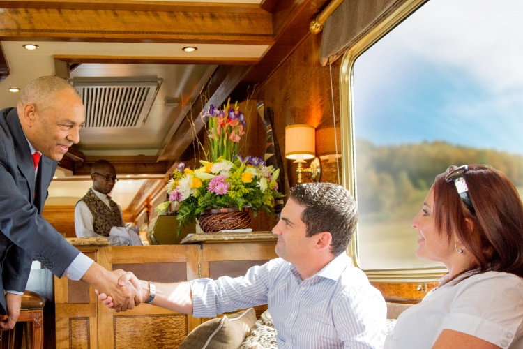 The Blue Train - Train Manager at your service