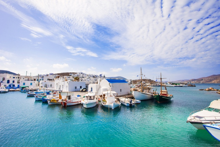 Naousa village, Paros island, Greece