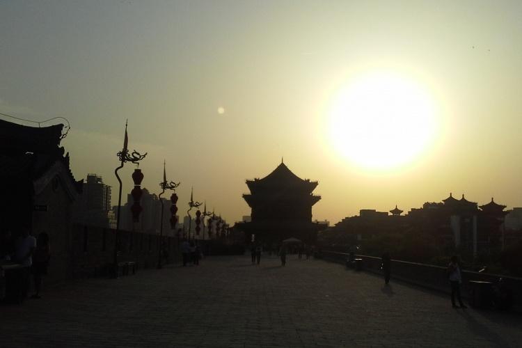 Xian Sunset - China