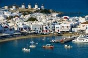 Greek Island Hopping - Athens-Mykonos-Paros-Santorini-Athens-10 Nights