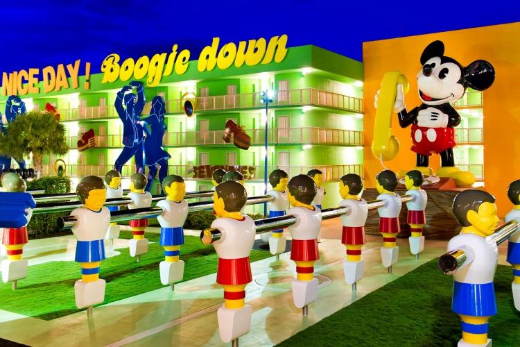 Disneys Pop Century Resort - Foosball