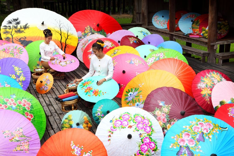 Borsang Umbrella - Chaing Mai