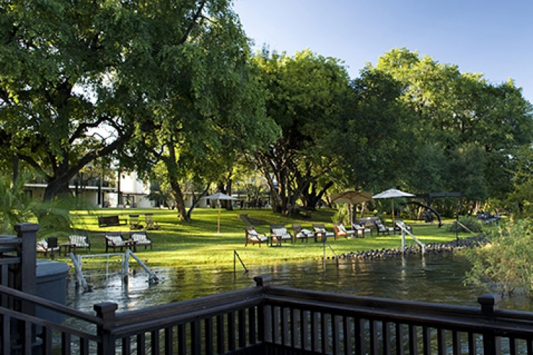 Royal Livingstone gardens