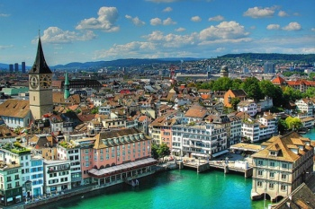 3* Hotel Bristol - Zurich - Switzerland Package (3 Nights)