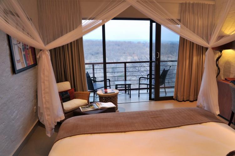 Victoria Falls Safari Club- view from room