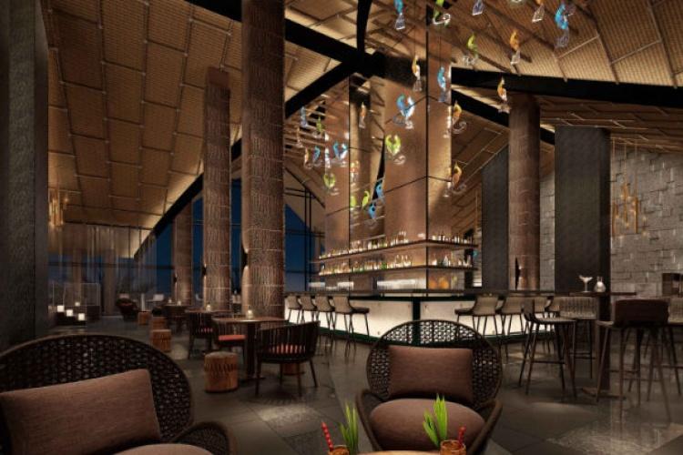 Lapita Hotel Dubai Roof Top Bar