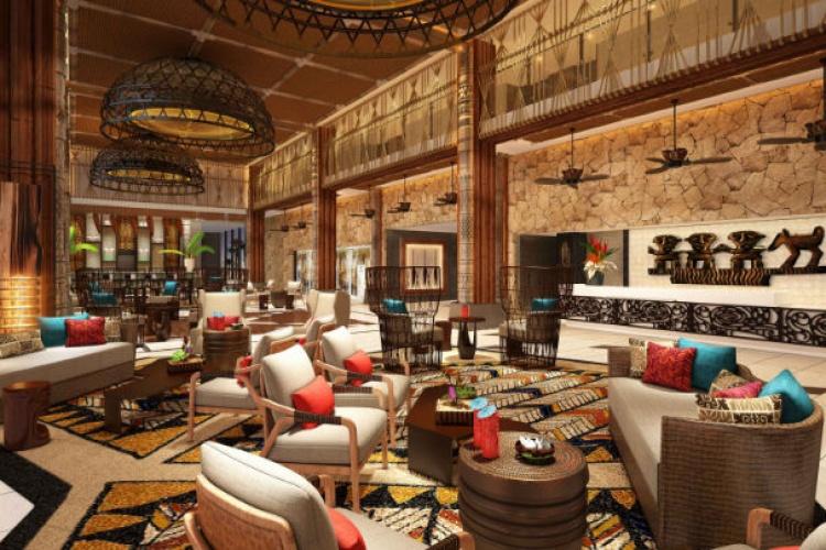 Lapita Hotel Dudai Lobby