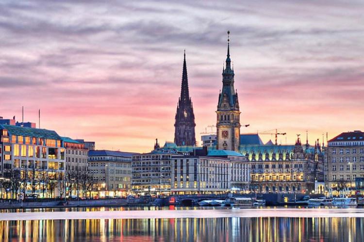 Hamburg, Copenhagen