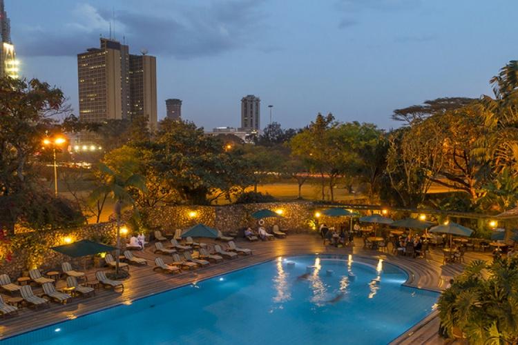Serena Nairobi - Pool Side