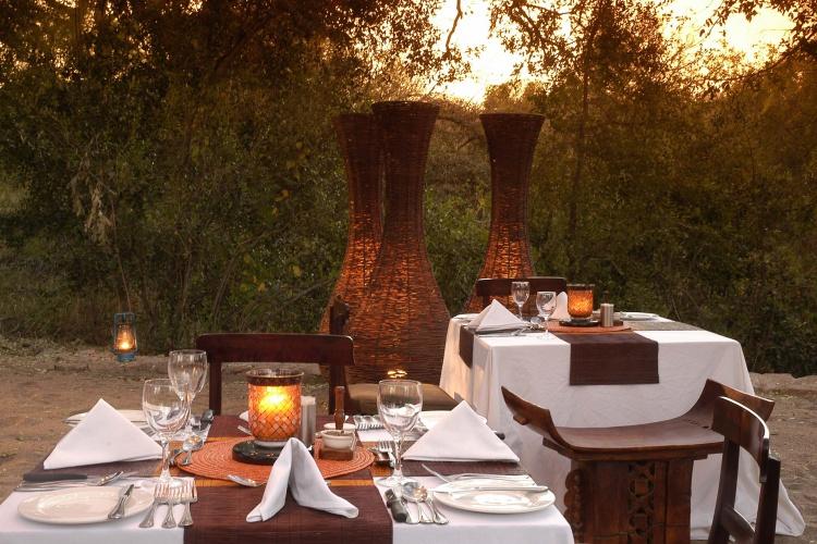 Sabi Sabi - Little Bush Camp - Dinner