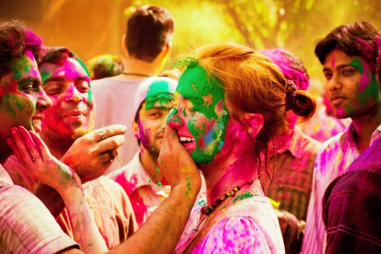 India - Holi Festival of colour