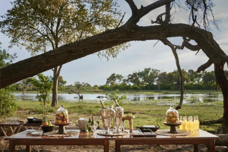 Belmond Khwai River Lodge - Bush Brunch