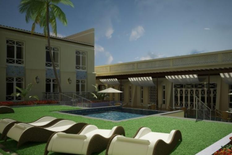 Meropa Hotel and Casino - Pool Area