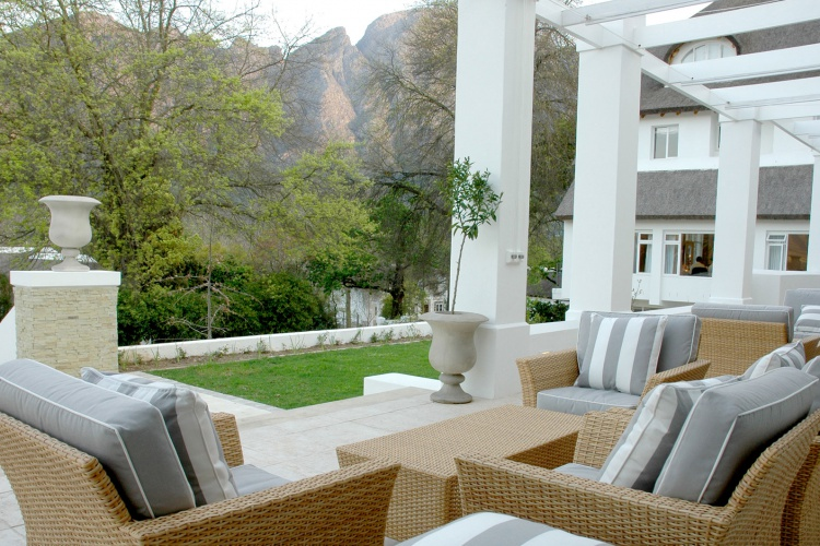 Le Franschhoek Hotel and Spa - Patio