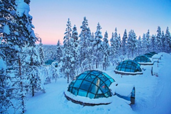 Kakslauttanen Arctic Resort holiday package