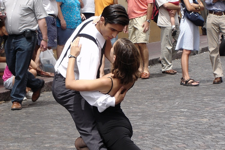 Buenos Aires -Tango in the street