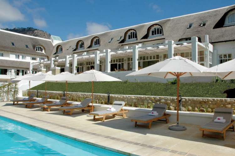 Le Franschhoek Hotel and Spa - Pool Area
