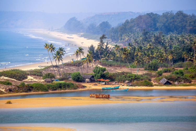 India - Goa Beach Shore Line