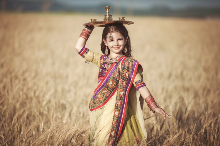 India - Little Indian Child