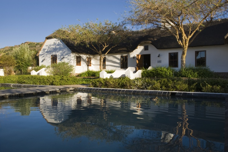 Bushmans Kloof Homestead Exterior